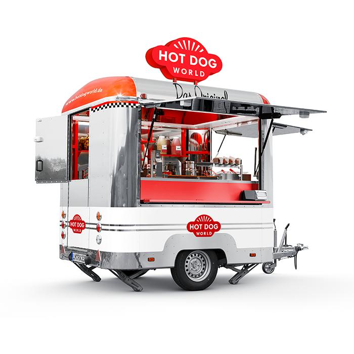 Hotdog Trailer