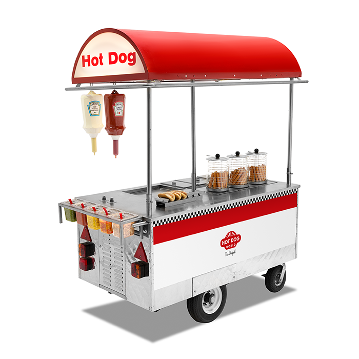 New York Hot Dog Cart