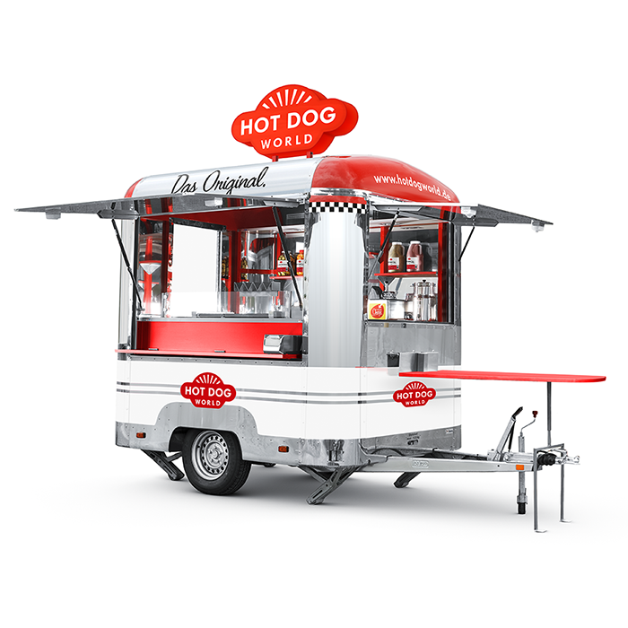 Hot Dog Trailer For Sale